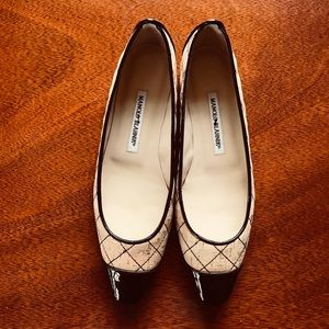 Manolo Blahnik Shoes (Cork)